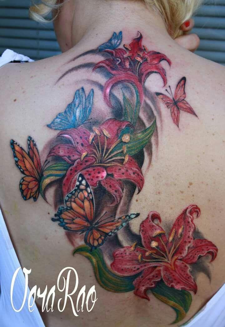 Figli e farfalle tattoo