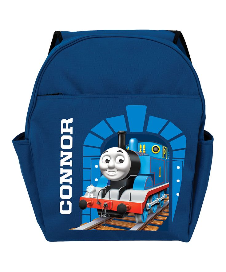 Blue Thomas & Friends Personalized Backpack