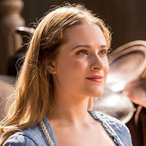 Evan Rachel Wood as Dolores in WESTWORLD (2016)