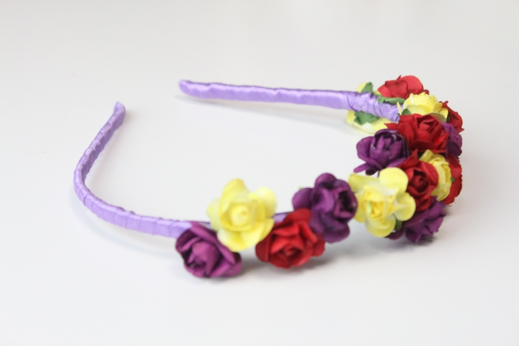 HeadBand Flower Power