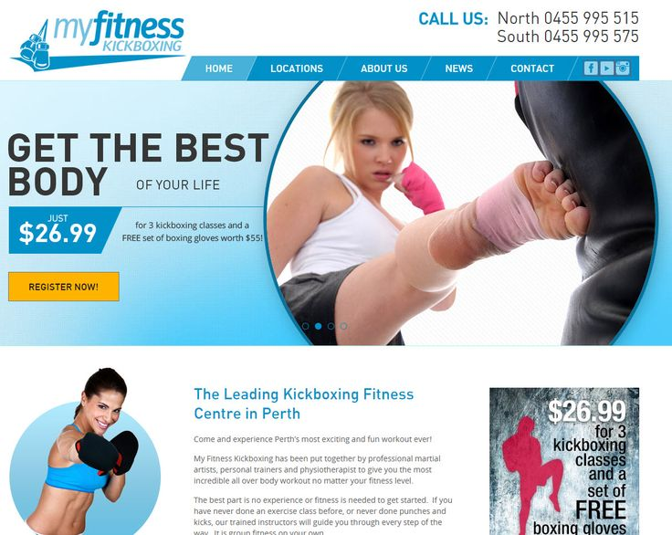 The Leading Kickboxing Fitness Centre in Perth www.myfitnesskickboxing.com.au. Another website design and manage by www.sushidigital.com.au
