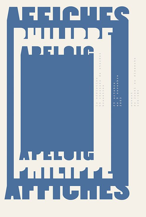 philippe apeloig affiches poster