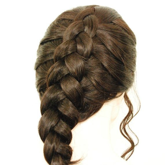 Lace front wig /Light brown braided wig/ undo the braids for long wavy curls