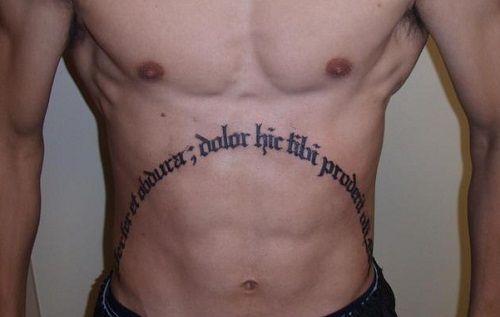 My Blog 52 Schöne Magen-Tattoo-Designs für Männer und für Mädchen - My Blog