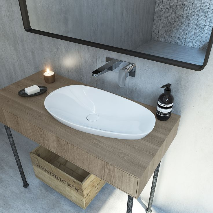 Contura Ceramic Inset Basin Is Designed For Beauty With A Timeless Life.  Combine With The Caroma Contura Bath To Make A Real Statement In Your  Bathroom ...