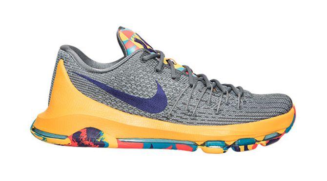 Nike KD 8 Prince George\\u0026#39;s, Wolf Grey Flyweave on