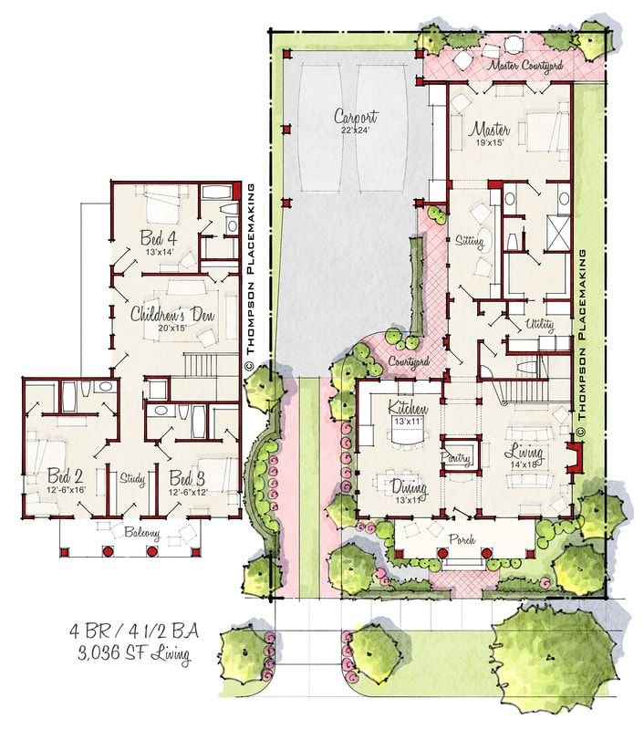 Moreau Exclusive House Plan House Layout Plans Two Story House Plans