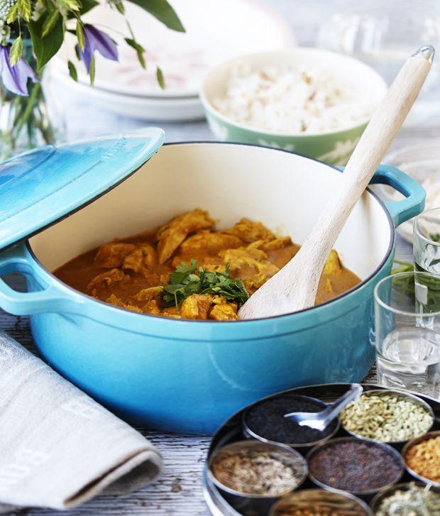 En god gryderet er eminent på de kolde dage. Skift den sædvanlige bøf stroganoff ud med en krydret tikka masala med masser af varme og smag.