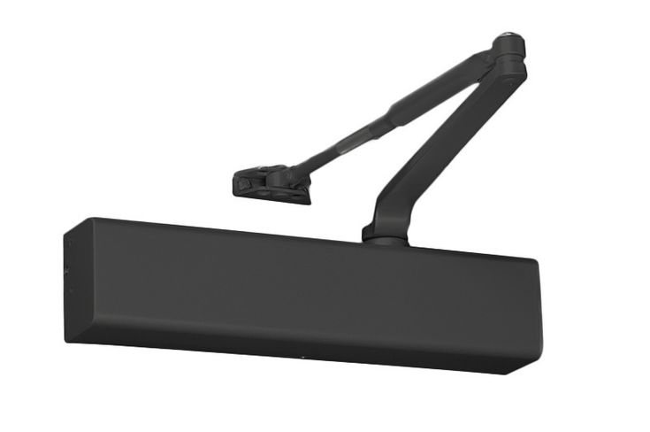 """Yale TJ3511 693 Door Closer Top Jamb w/2-3/4"""" to 6-3/4"""" Reveals Hold Open Size 1-6 Full Cover"""