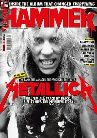 """KILL 'EM ALL: In the June 2016 issue, Metal Hammer goes """"inside the album that changed everything"""" with brand new interviews. Also, King810 revealed their plans on saving their hometown  and why Hesitation Wounds are """"a cut above"""" the rest, plus interviews with Killswitch Engage, The Dillinger Escape Plan, Hatebreed and Trivium invited Hammer to join them on tour."""