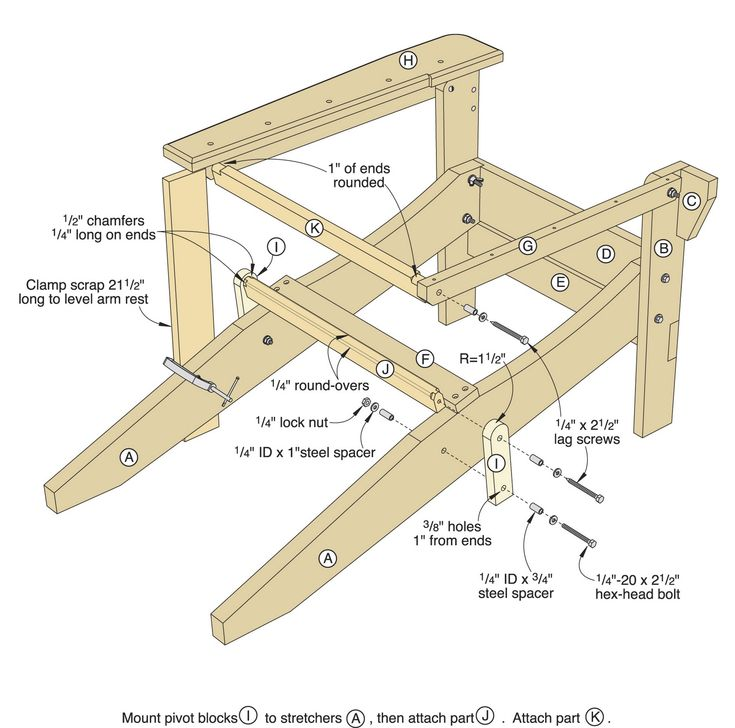 Folding Adirondack Chair Plans Free Download Find Furniture Image Results