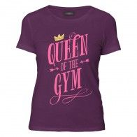 Camiseta Queen of the gym BY Giovana Guido