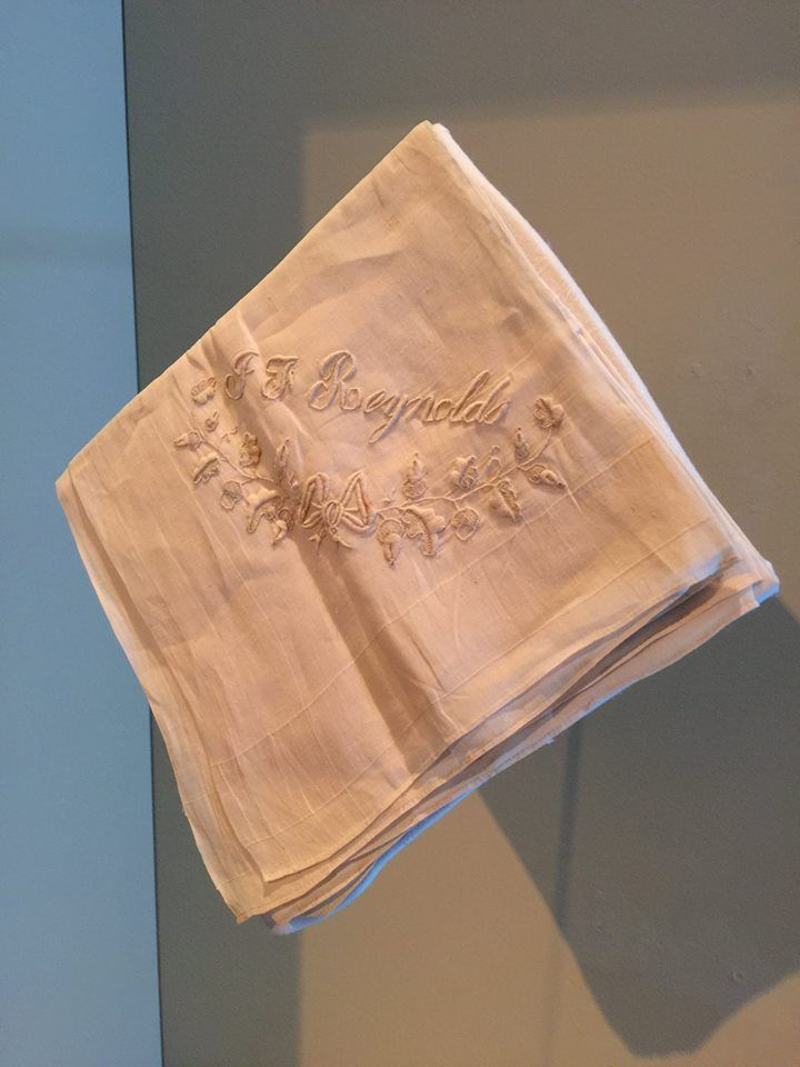 The Seminary Ridge Museum, working with the Gettysburg National Military Park and private collectors, recently placed a number of new artifacts on display. This includes a handkerchief owned by Major General John Reynolds