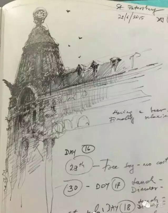 Joseph Zbukvic sketchbook