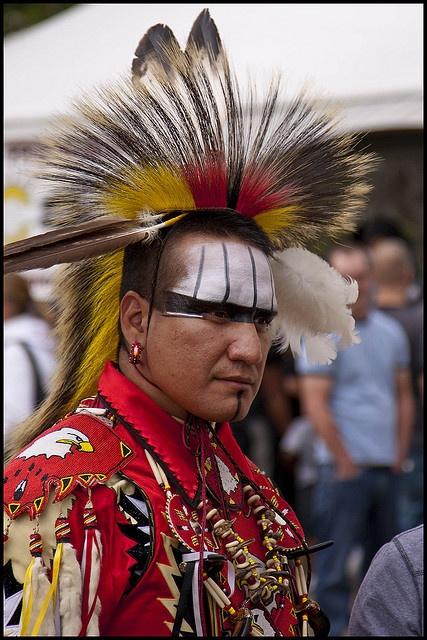 Canadian Aboriginal Man by E_TAVARES, via Flickr
