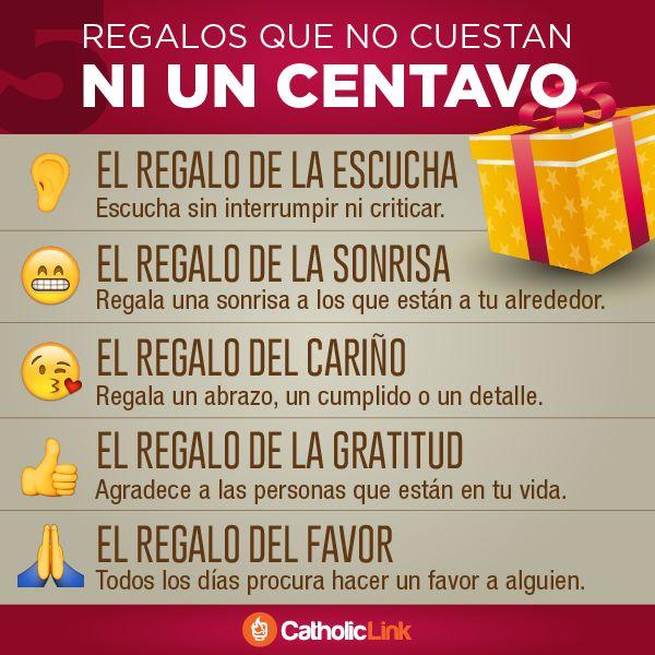 Biblioteca de Catholic-Link - Infografía: 5 regalos de Navidad que no cuestan ni...