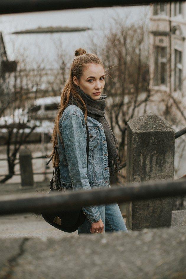 Jean on jean | theStyleventure | Minimalistic fashion blog from Scandinavia