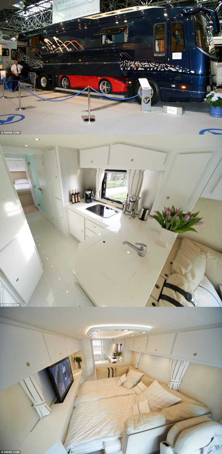 Luxury By Design Rv 44 Best Extravagant Rv Interiors Images On Pinterest Rv Interior