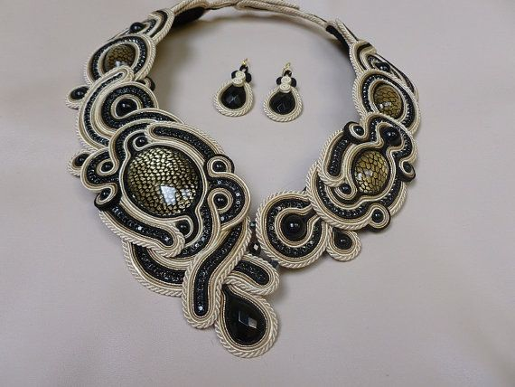 In love with soutache jewelry!
