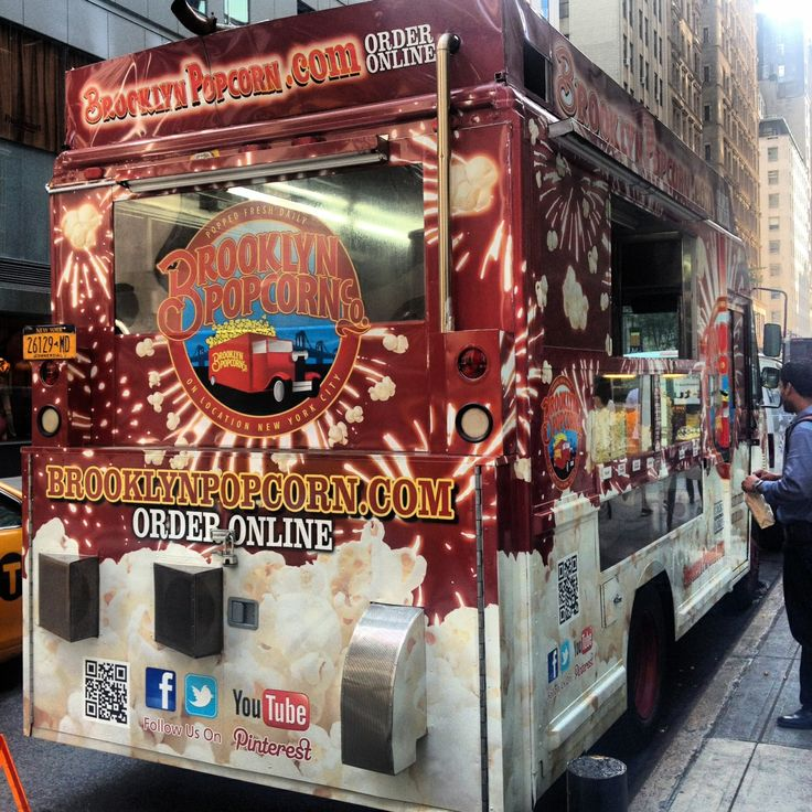 What is your favorite NYC food truck? The Brooklyn Popcorn Co. parks across the street from The Roosevelt every week!