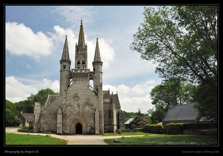 Saint-Fiacre's chapel - Le Faouet, Bretagne