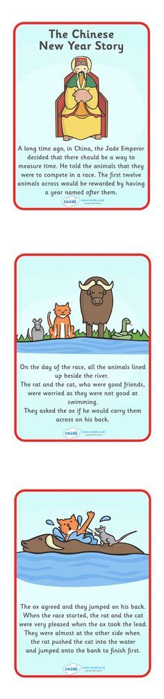 Chinese New Year Story - Pop over to our site at www.twinkl.co.uk and check out our lovely Chinese New Year primary teaching resources! chinese new year, chinese story, story, story of the animals #chinese_new_year #teaching_resources