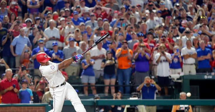 Adrian Beltre grounds out in the sixth inning against the Orioles 7-29-2017. Beltre is just one hit away from 3,000. (Tom Fox/The Dallas Morning News)