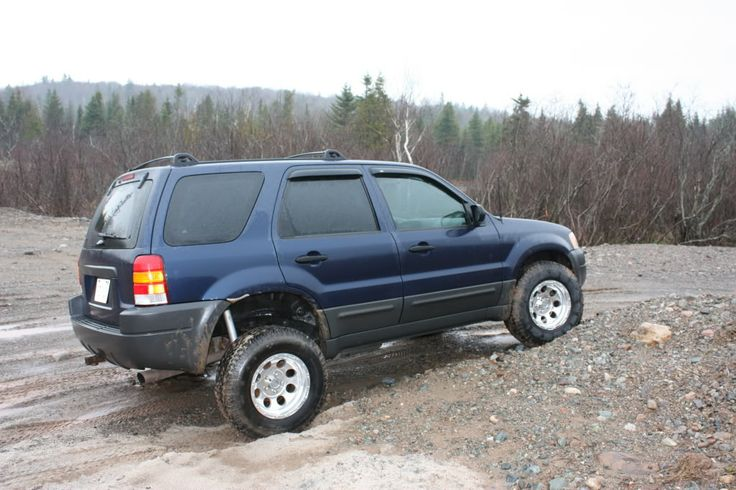 ford escape 4x4 lifted lifted ford escape 4x4 ford suv. Black Bedroom Furniture Sets. Home Design Ideas
