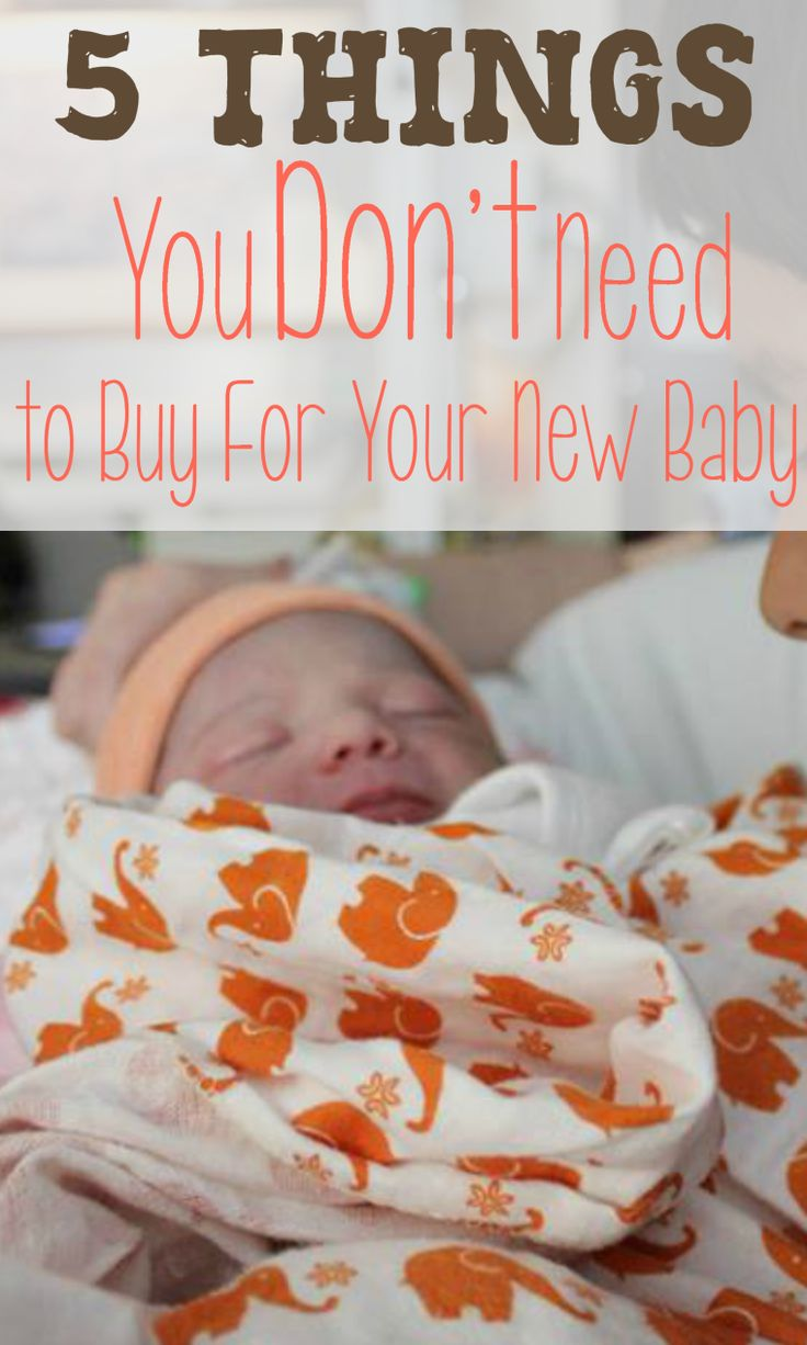Are you wondering where you should spend your money on your newborn? Click through to find out 5 things you don't need to buy for your new…