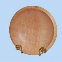 Silky Oak Salad or fruit bowl. Foodsafe, this well proportioned bowl is very pleasing on the eye. Australian made crafts.