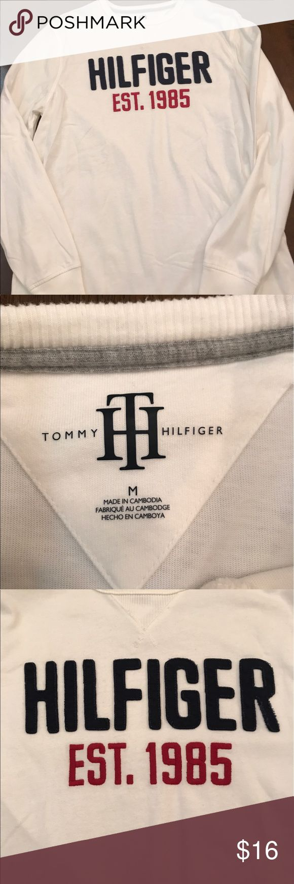 Tommy Hilfiger long Sleeve tshirt Great condition! Check out all the photos. From 2015 Tommy Hilfiger Shirts Tees - Long Sleeve