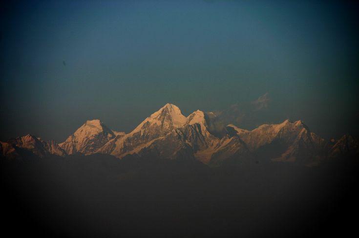 Вид на Гималаи в Непале / Nepal. Nagarkot. Himalayas #himalayas