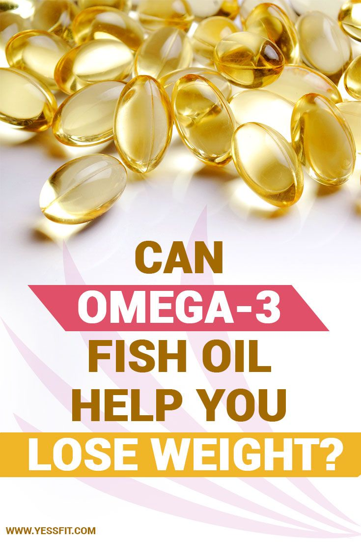 how can omega-3 fish oil help you lose weight | secretdiettips