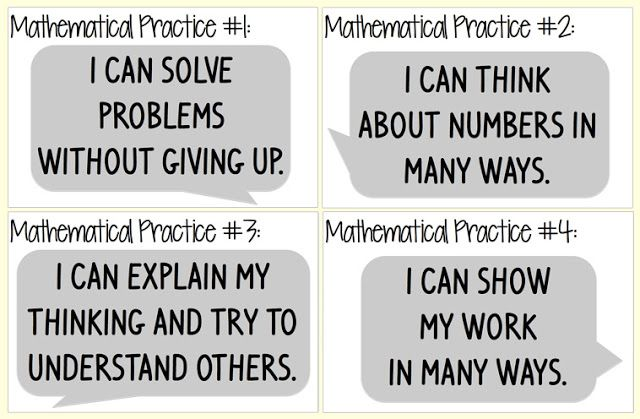 Everybody is a Genius: Kid Friendly Mathematical Practices Posters