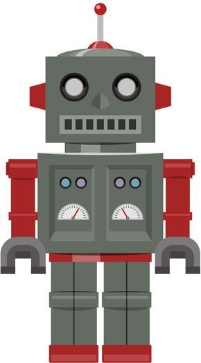 [フリーイラスト素材] クリップアート, 玩具 / おもちゃ, ロボット ID:201308040200