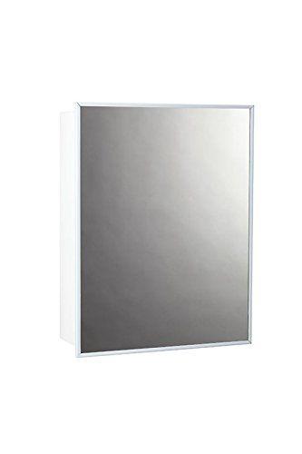 Jensen 26018chx Stainless Steel Frame Medicine Cabinet 14
