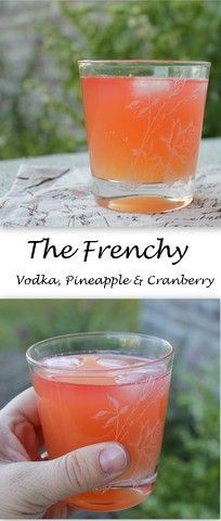 The Frenchy - a 3-ingredient cocktail. #SundaySupper