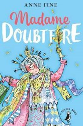 """Madame Doubtfire"", by Anne Fine - Lydia, Christopher and Natalie Hillard are used to domestic turmoil and have been torn between their warring parents ever since their divorce. That all changes when their mother takes on an unusual cleaning lady. But there is much more to Madame Doubtfire than meets the eye..."