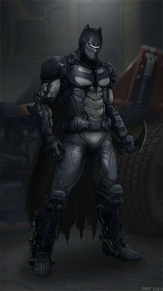 Wicked looking Batsuit, cool though.