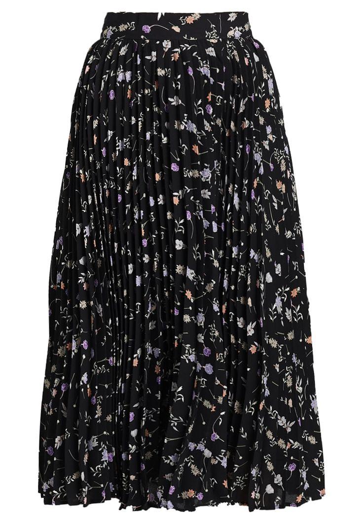 Köp  Second Script Petite PRINTED PLEATED SKIRT - Veckad kjol - black för 599,00 kr (2018-03-03) fraktfritt på Zalando.se