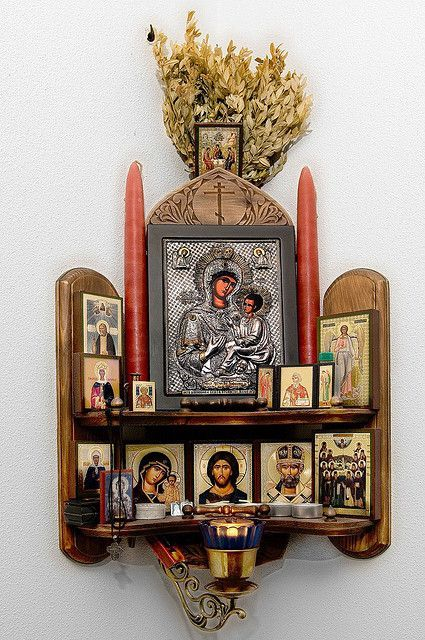 An idea for a bright corner in your Catholic home.