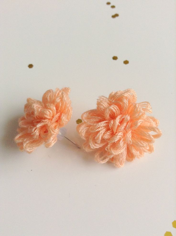 Flower stud earrings, colorful studs. Tiny and cute jewelry. by ViewofBeauty on Etsy