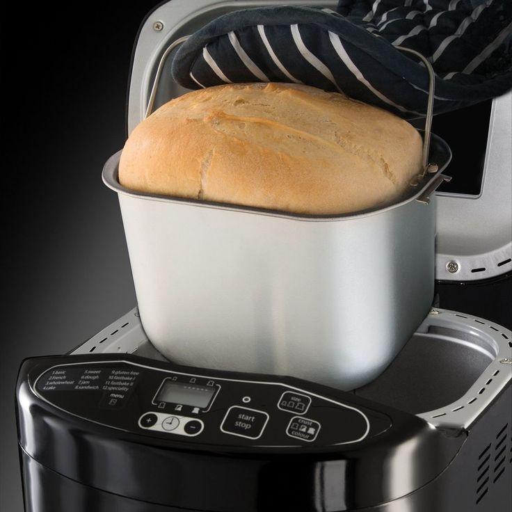 Compact Bread Maker Machine Automatic Electric Digital Crust Control Baker Timer
