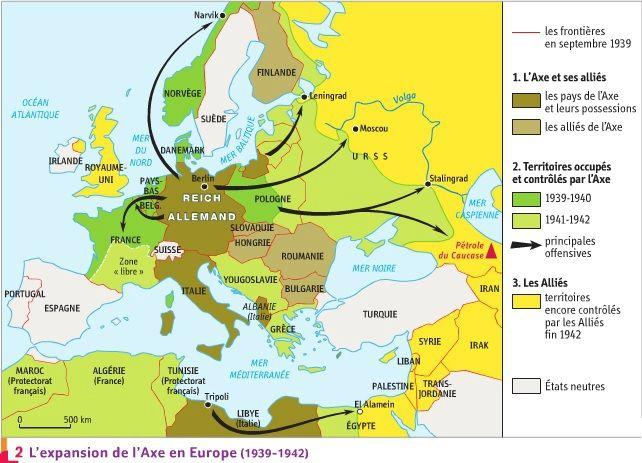 Carte Des Camps De Concentration Et Des Camps D Extermination Dans