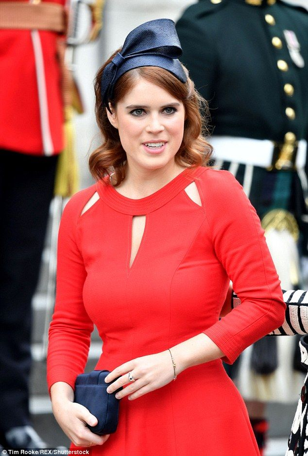 Princess Eugenie and Lady Amelia Windsor stun at Queen's service