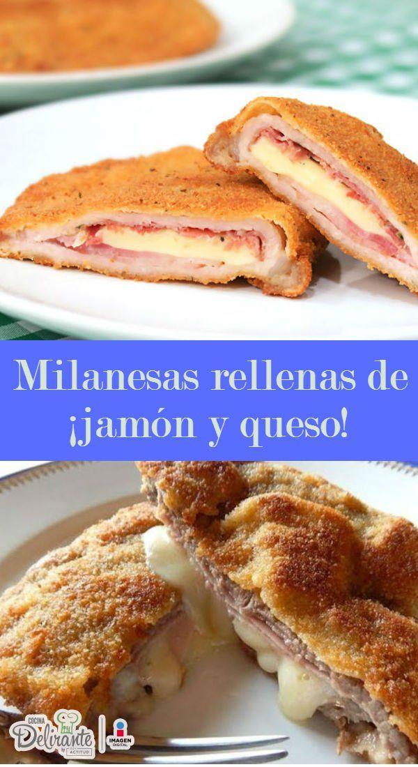 milanesas de res rellenas | CocinaDelirante