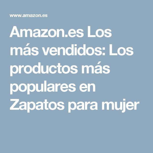 Amazon.es Los más vendidos: Los productos más populares en Zapatos para mujer