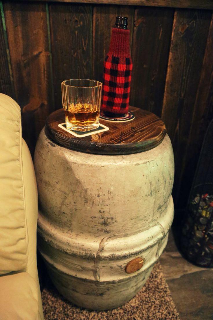22 Best Keg Repurpose Images On Pinterest Beer Keg