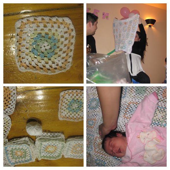 2011 Mantia a crochet para Rayita