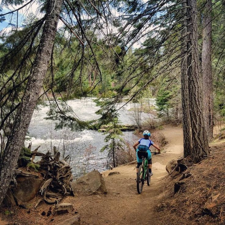 Deschutes National Forest is home to some of the best mountain bike trails in Central Oregon! The popular city of Bend functions as the primary hub for mountain biking in the region, with popular trails like the Phil's Area, Mount Bachelor bike park, and The Lair.